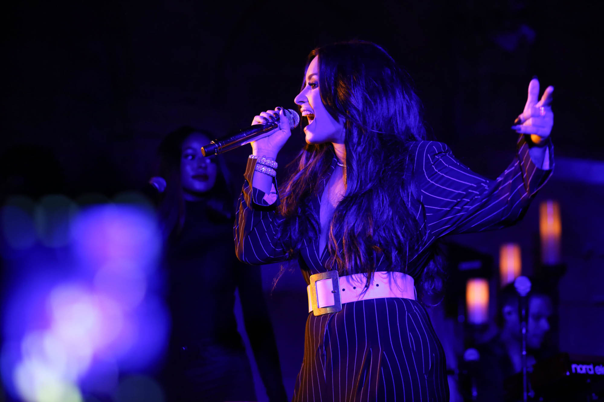 Demi-Lovato-performs-at-the-Met-Cloisters